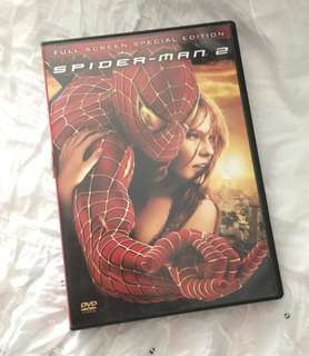 Charity Sale! Spiderman 2 DVD Kiersten Dunst Movie