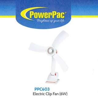 BNIB PowerPac Electric Clip Fan
