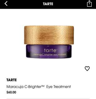 (-40%)Brand new Tarte maracuja c-brighter eye treatment