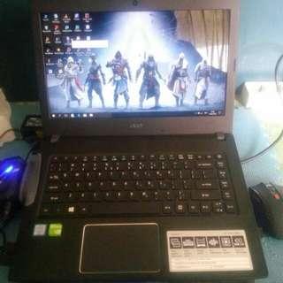 Acer Aspire E5-475G-38LQB Notebook - Grey [14 inch/i3-6006U/nVidia GT940MX/8 GB/500 GB/Linux]
