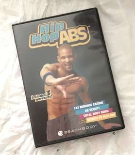 Charity Sale! Hip Hop Abs Workout DVD Dance Workout