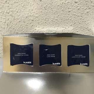 La Prairie sample kit