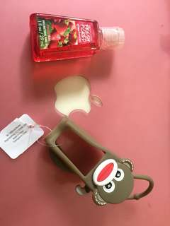 Holder&Pocketbac (Socks Monkey)