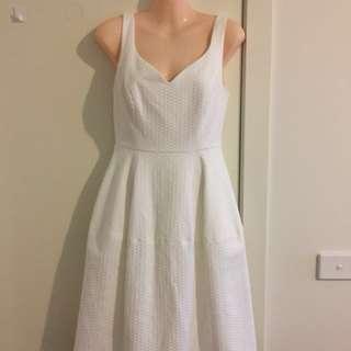 Forever New White Dress