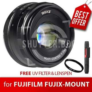 Lensa MEIKE 35mm F1.7 for Fujifilm FUJIX-Mount