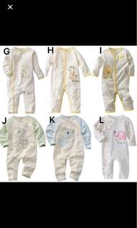 Baby pyjamas Long sleeve rompers