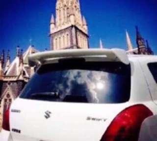 Universal MVP/SUV/HATCHBACK Car Spoiler