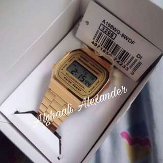 Original Casio watch A168