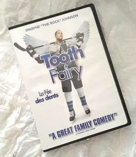 Charity Sale! Tooth Fairy DVD Family Movie Dwayne Johnson