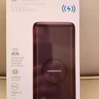 Momax QPower 10,000mAh wireless power bank