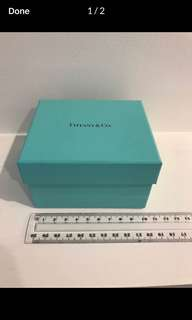 Authentic Tiffany and Co Box
