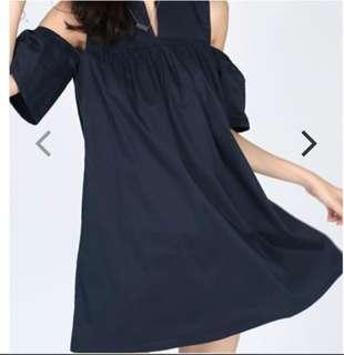 LB Unelina Cutout Shoulder Dress