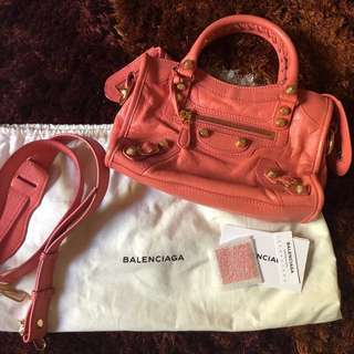 Balenciaga giant 12 mini city (Rose Azalee)
