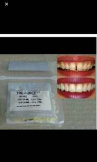 Teeth gaps teeth bands true force
