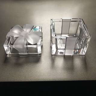 Tiffany crystal box