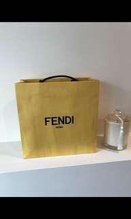 Fendi Paper Bag
