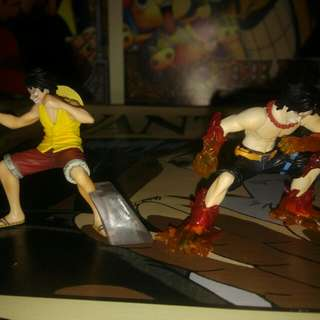 One Piece Luffy And Ace Set