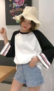 ulzzang long sleeve tee