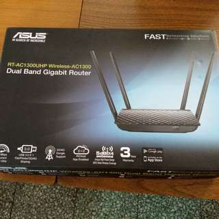 Asus wifi router RT-AC1300UHP gigabit router