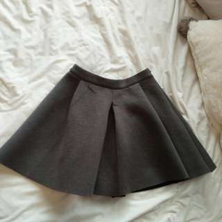 Short A-Line Structured Skirt