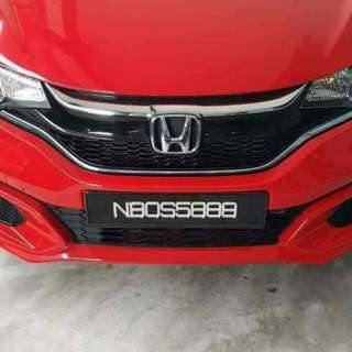 STYLO PLATE NUMBER FOR SALE