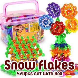 💥RS💥Snow Flakes 520pcs set with Box