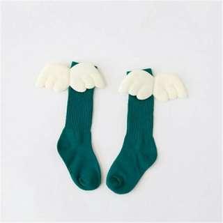 Socks - Angel Wing 3d (Green)