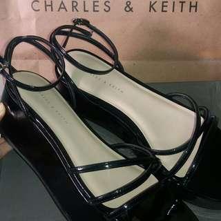 Wedges charles n keith