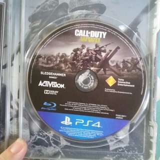 PS4 WWII