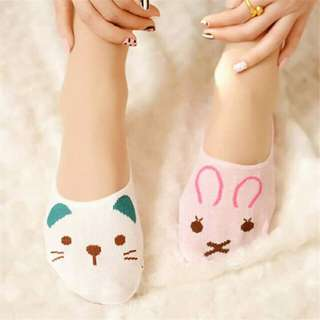 Foot socks . cat design . 6 for 150, 250 2 dozen