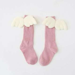 Socks - Angel Wing 3d (Pink)
