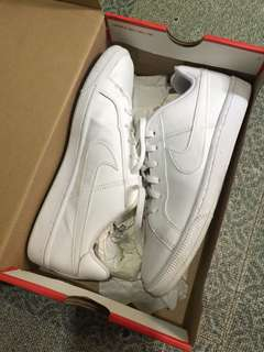 Nike Court Royal White/ Used twice /Need Cleaning/ bought at megamall with receipt