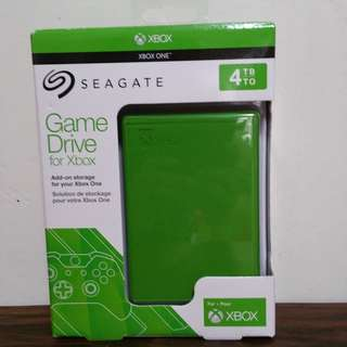 Seagate 4TB external hard drive for Xbox