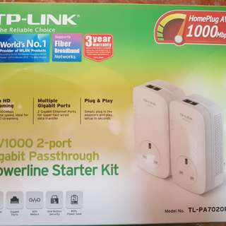 TP-Link AV1000 Powerline Starter Kit