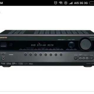 Onkyo Home Theater System (receiver + 5 speakers)