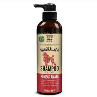 Reliq Dog Mineral Spa Shampoo Pomegranate 500ml