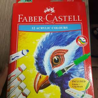 Faber castell acrylic colours