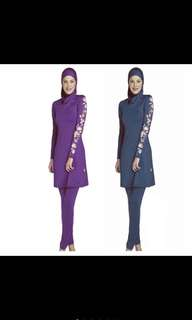 Muslimah swimwear 3pcs set in stock!