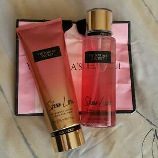 Authentic Victoria's Secret Sheer Love Set