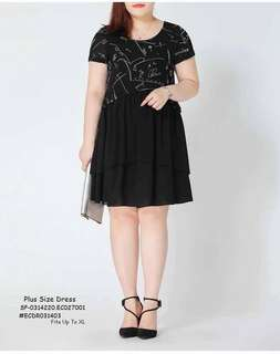 Plussize dress fits upto XL