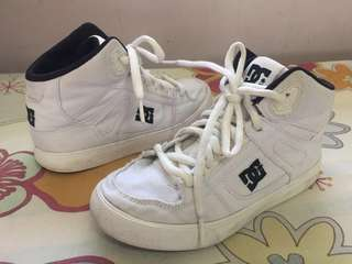 AUTHENTIC DC YOUTH SPARTAN HIGH TX RUBBER SHOES