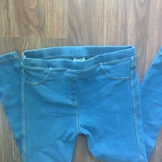 Zara Girls leggings - Size 7