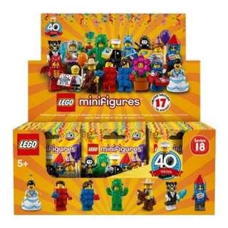 Lego 71021 Series 18 LEGO Collectible Minifigures Box of 60
