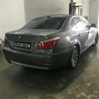 BMW E60 523 Automatic       -(SG)- Year 2008
