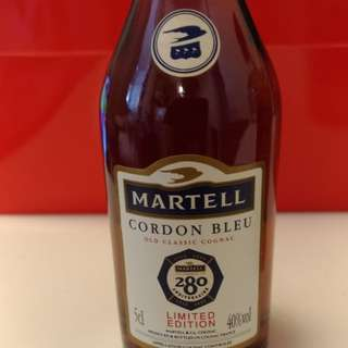 Martell Cordon Bleu 280 Anniversary mini bottle