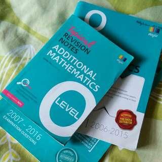 O level books released in 2015/2016