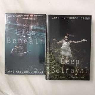 Lies Beneath and Deep Betrayal.  #Bajet20