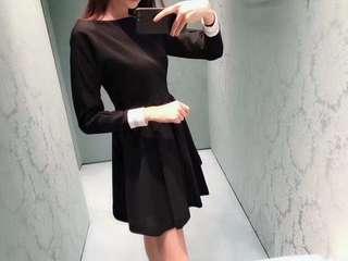 MiuMiu熱賣黑色連身裙💕