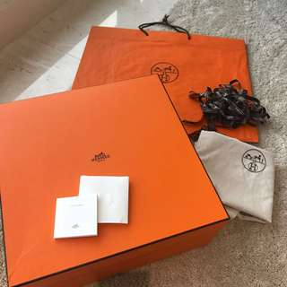 Hermes B35 Box full set 42cm NEGO