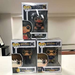 Funko Pop - Harry Potter & Fantastic Beasts Set